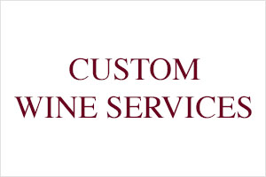 Custom Wine Services